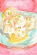 童話『ちいちゃんのしゅうまいとり』の挿絵