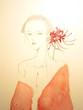 『花と女』