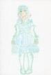 ロリィタ・ファッションの女の子