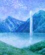 【文章×絵】山と水系
