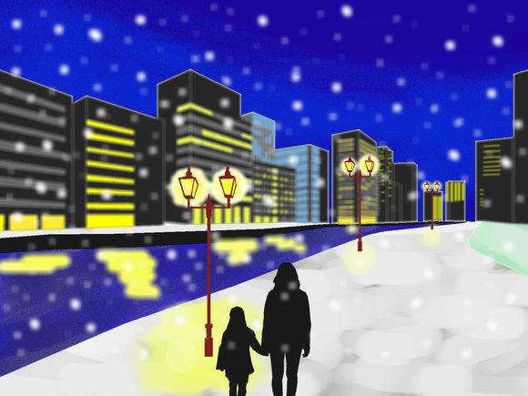雪のクリスマス・イブ あの日の記憶
