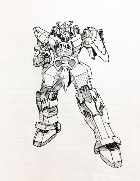 ご当地戦機イバラギア 大阪のご当地ロボ「ハングラビオン全力闘魂」