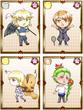 【英雄学園】魔法科1年生・3年生(カード03)