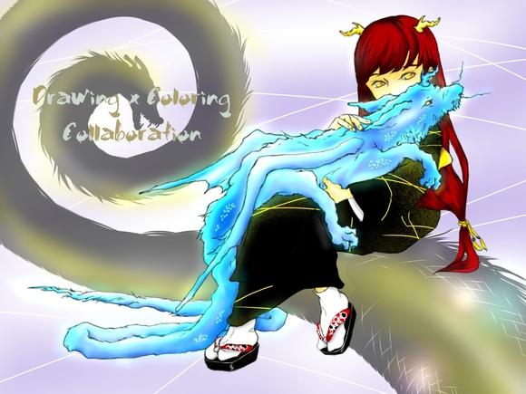 【線画×彩色◆コラボ祭Ⅳ】sho-ko様の線画