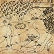 ファンタジー地図の練習 周辺地図① レトロ