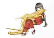 【塗り絵企画Ⅳ】sho-koさんの「たつのこ」versionA