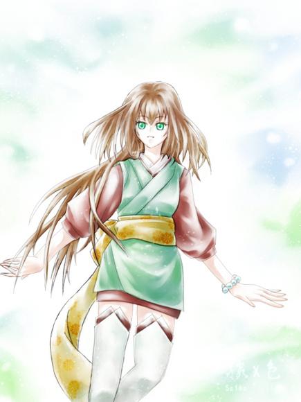 【線×色Ⅲ】No.1 線画(術師)(Saikaさまの線画)