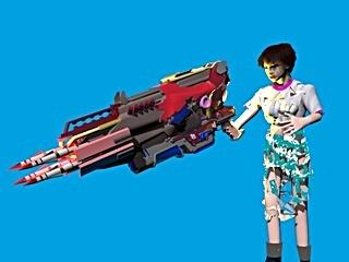 AIナオの右腕と、最強ゼウスミサイルのアップロードイメージ