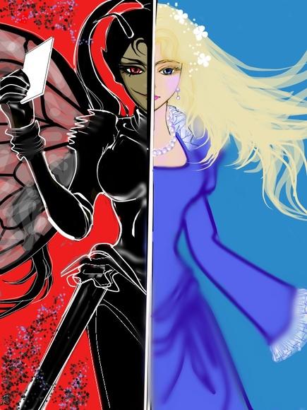 黒塔真実様作 『蝿の女王』へのファンアート