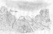 霧の妖災と黒影の鬼者 キービジュアル