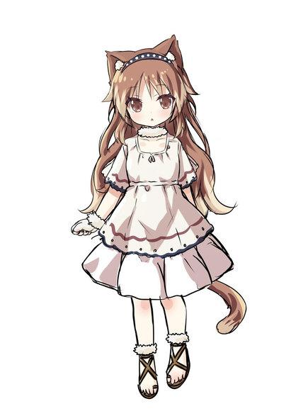 ミルテ 猫化(キャラクターデザイン画)