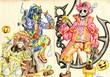 ゾンビ娘ロウィー/ミイラ娘ルロン/海賊スケルトンジャックラン