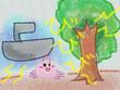 『みずうみのうみの船』14話の挿絵