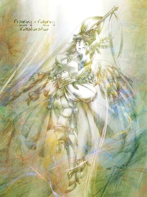 【線×色Ⅱ】ミウラさまの線画