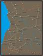 アンゴラの地図