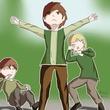 【オリキャラ】仲間を守れ! パト!!(秋のピクニック)【せかへい