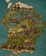 ベルグランデ王国の地図