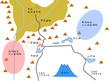 転生風林火山-甲斐国河内地方郡内地方