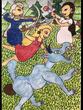 復讐の王女と願いの石 第七章の挿絵