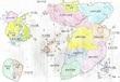 『遠戦雄志』地図です