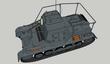 I号指揮戦車Sd.Kfz265フレームアンテナ2