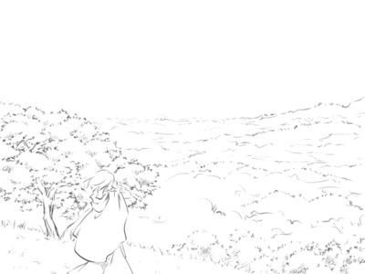 【線×色】線画04(おまけ)