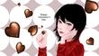 紅子■バレンタインカード