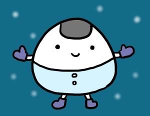 冬のおにぎり