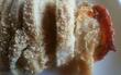 (岩塩、オレガノ、水で一晩ねかせて)レンジで蒸した鶏胸肉