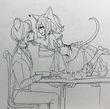 黒猫お嬢様とネズミ執事