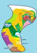 大陸地図012
