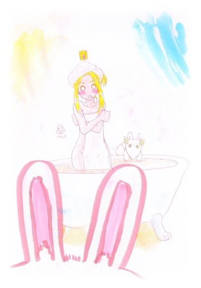 はぐるまどらいぶ。おはようお風呂です。