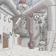 オヴァヴァ鋼国の街(バミサパテンナ様・画)