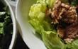 レタス、ツナ、あまにあぶら サラダ