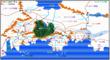 ザムドウラ大陸地図