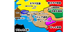 アドレア連邦地図