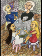 復讐の王女と願いの石 第六章の挿絵
