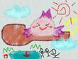 『みずうみのうみの船』6話の挿絵