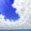適当ーな雲