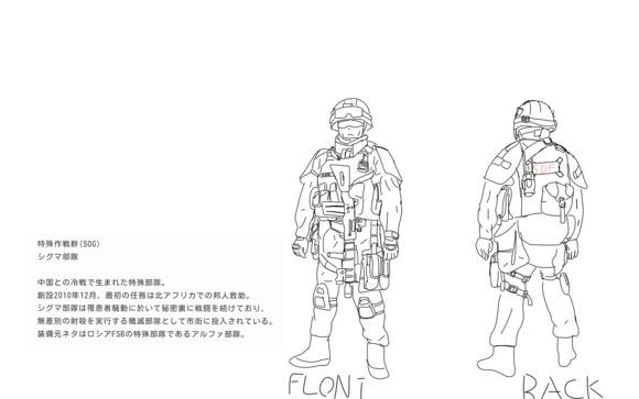 特殊作戦群シグマ部隊