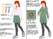 聖桜高校女子制服