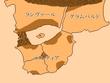空色の双翼アルムラント大陸地図