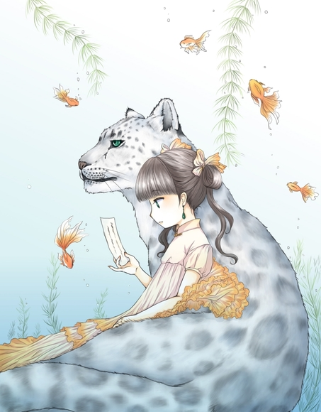 【みんなの名画企画】短冊を読む幼女【夏涼み】