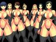 ズラリと並ぶヘルヘブン女戦闘員