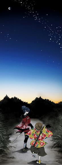 夜明けの前の空の色