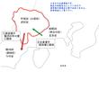 転生!風林火山!15話武田家侵攻略図