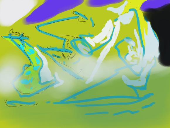 檸檬 絵郎様へのファンアート 途中絵となります。