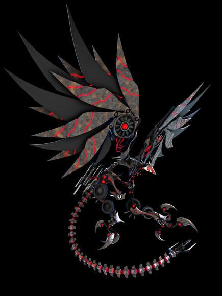 脳仕掛けの楽園 鋼の竜 全身1