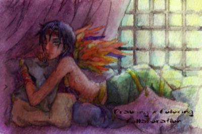 【線×色】真綿の牢獄(宗像竜子さま線画)