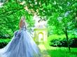 庭園の王女(水彩画調)